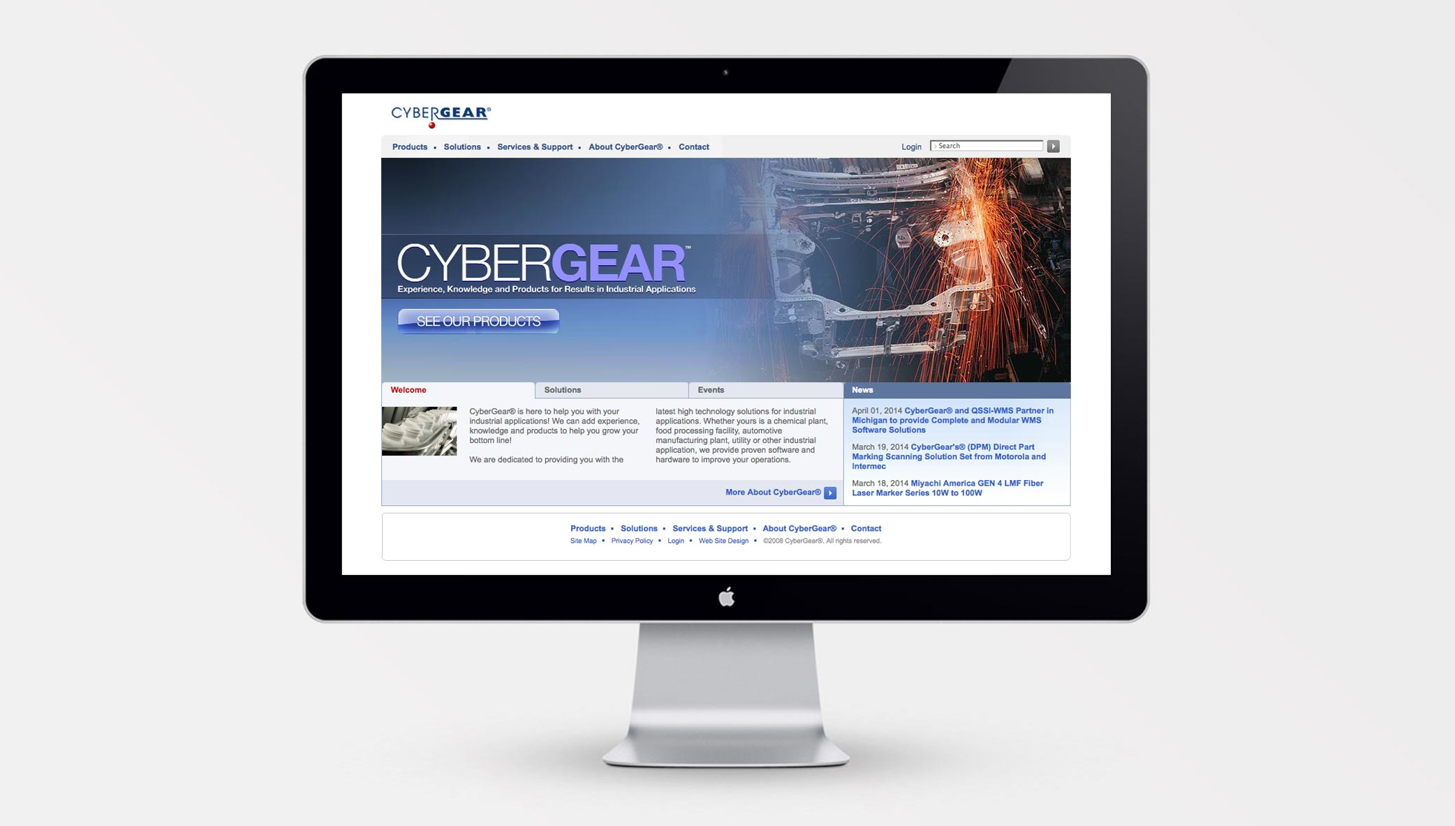 Stone Launches CybersGear's First Website