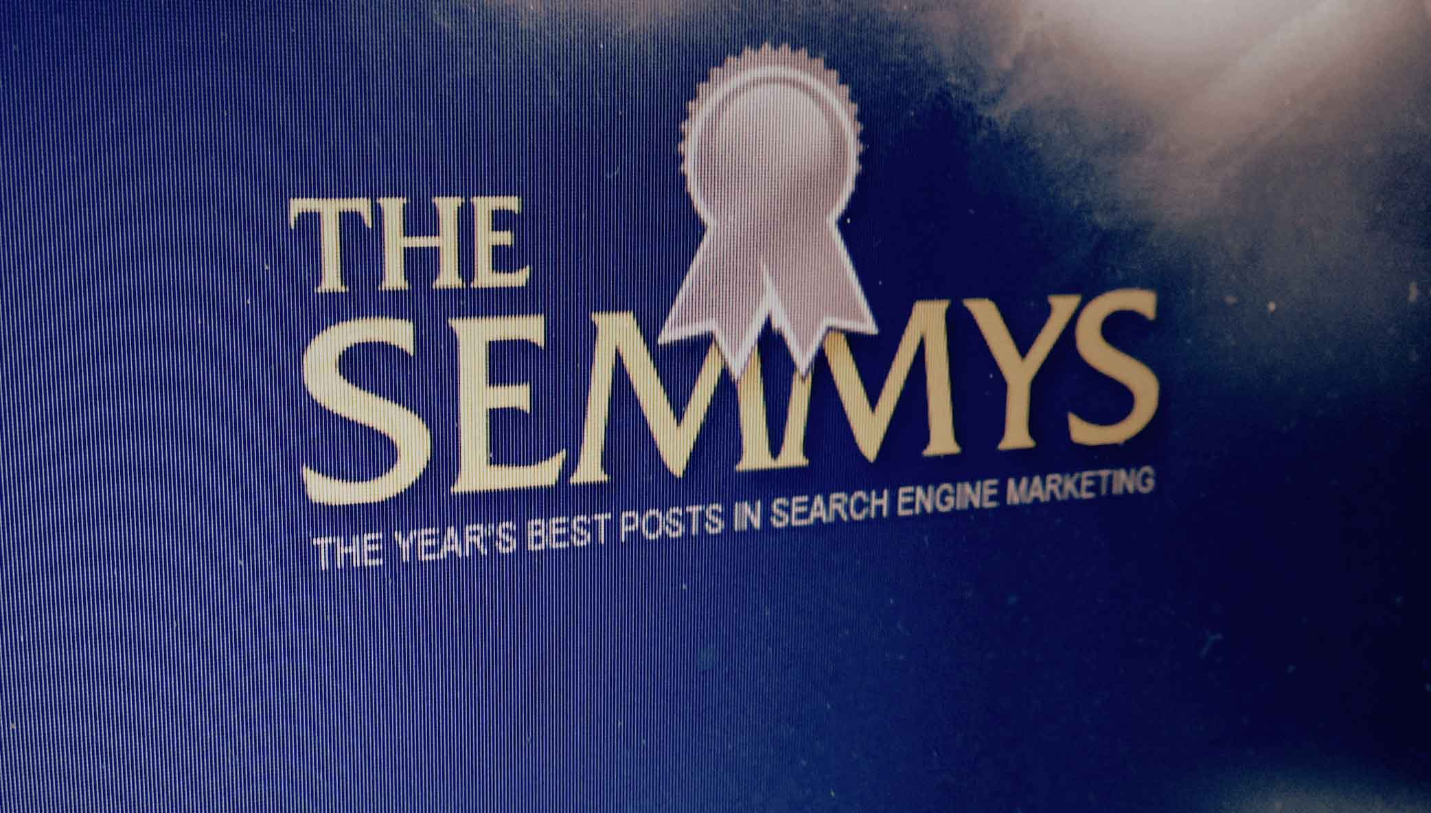 Stone Blog Post Nominated for a SEMMY Award