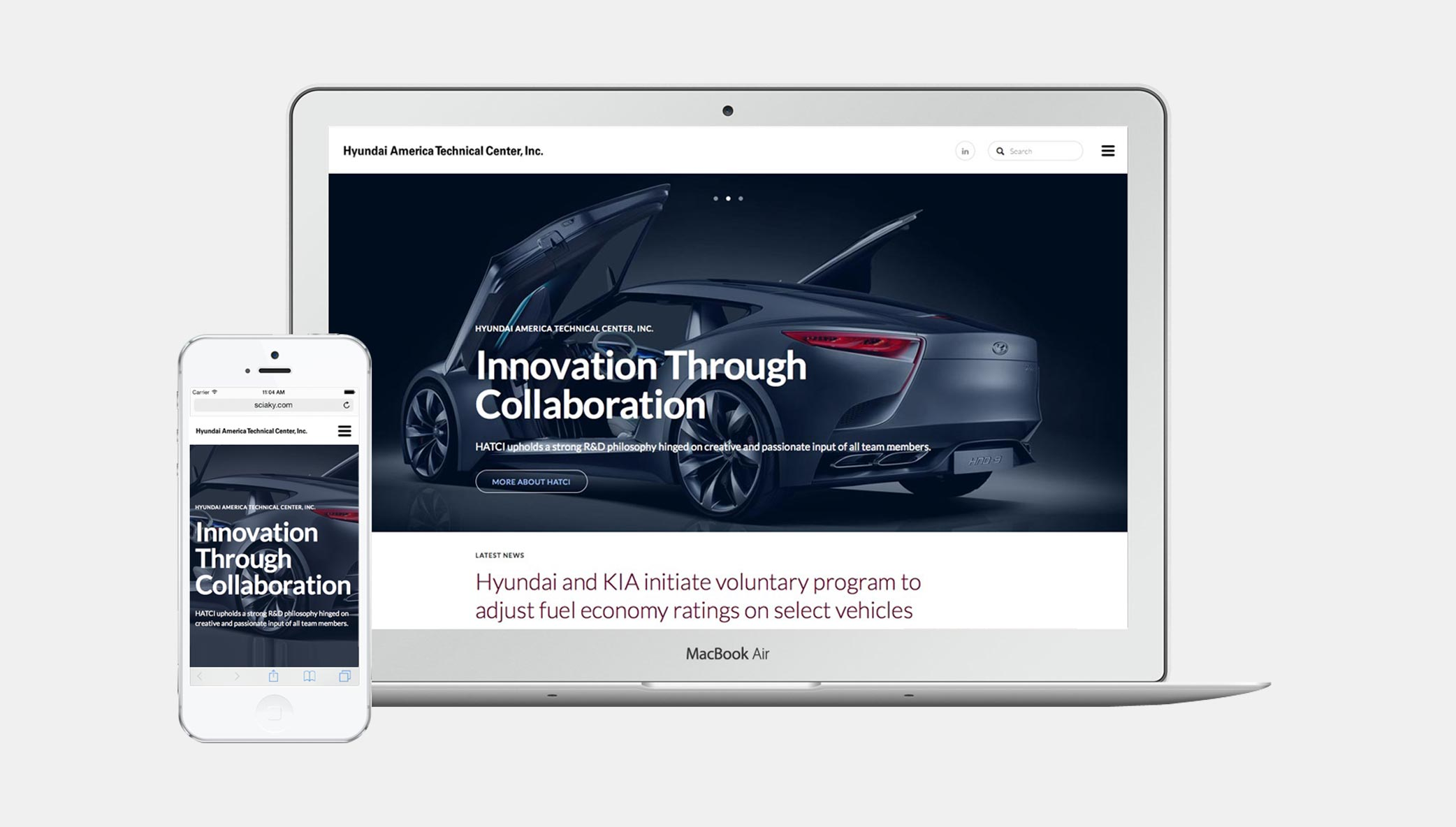 Stone Launches New Website Design for Hyundai