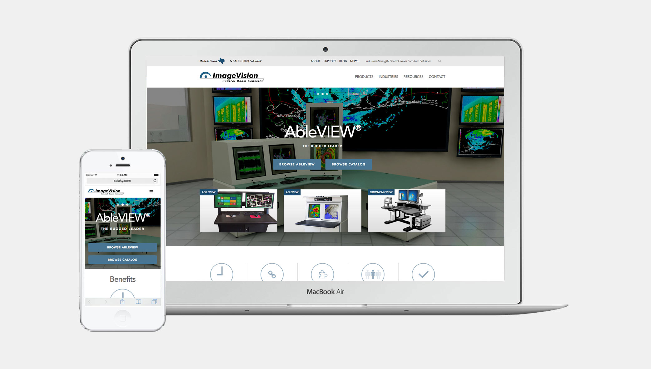 Stone Launches New Site for ImageVision, Inc.
